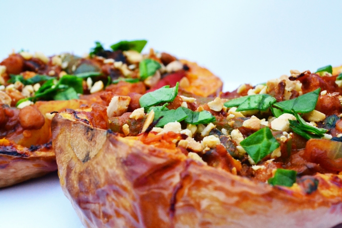 Stuffed butternut 2