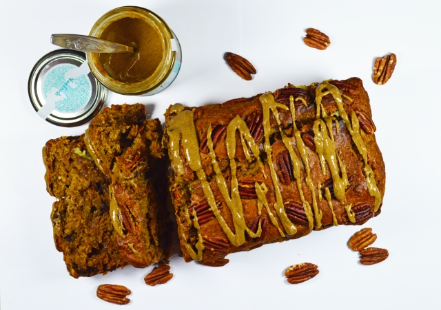 Pecan, Chocolate Banana Bread