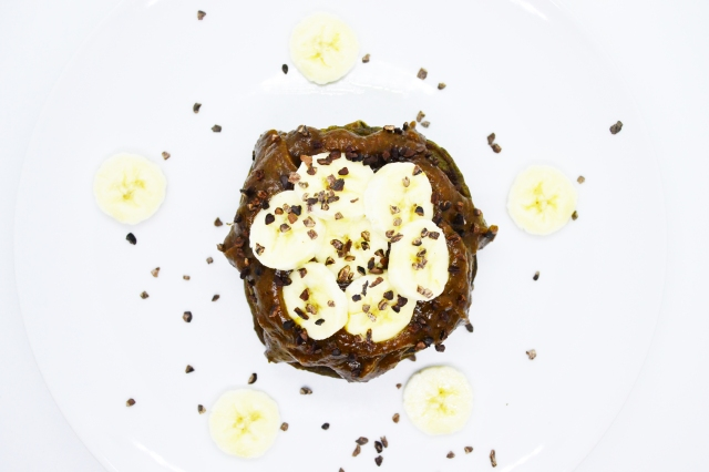 Banoffee protein pancakes 2