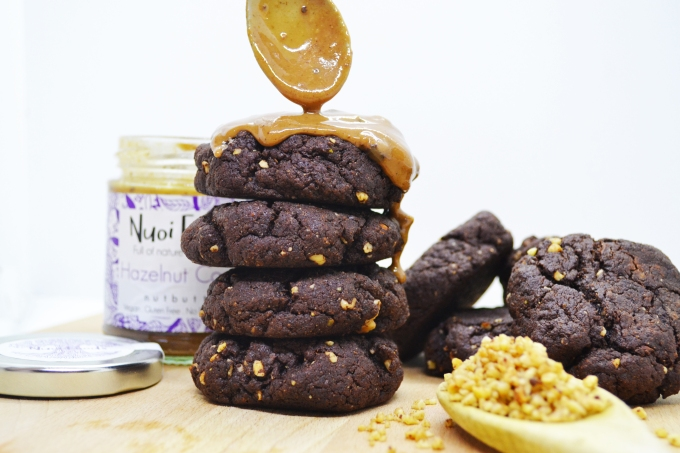 Hazelnut cocoa cookies 4