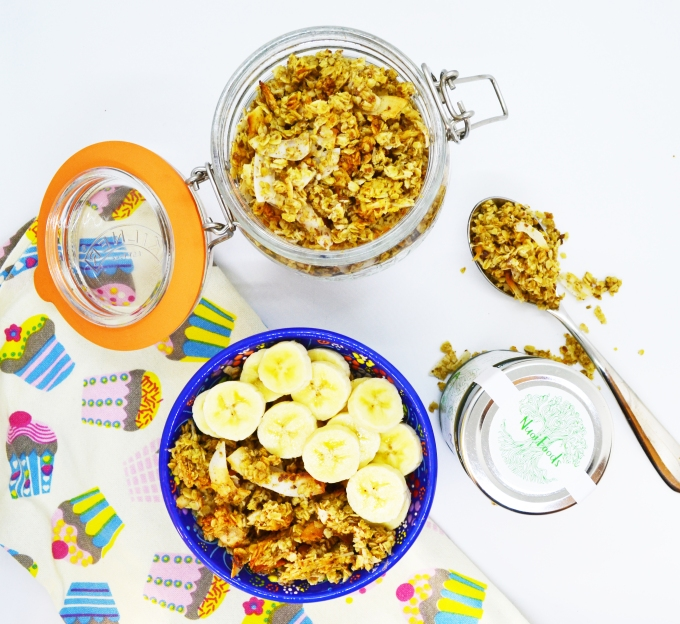 Toasted coconut granola 2